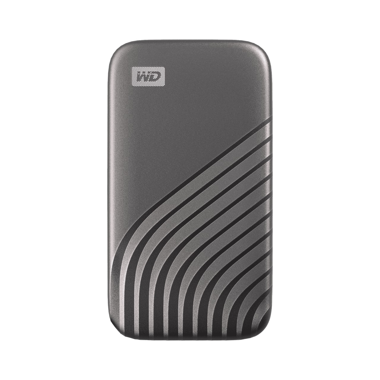 Fotografie SSD Extern WD My Passport™ 500GB, USB 3.2 Gen2 Type-C/A, NVMe, Space Gray