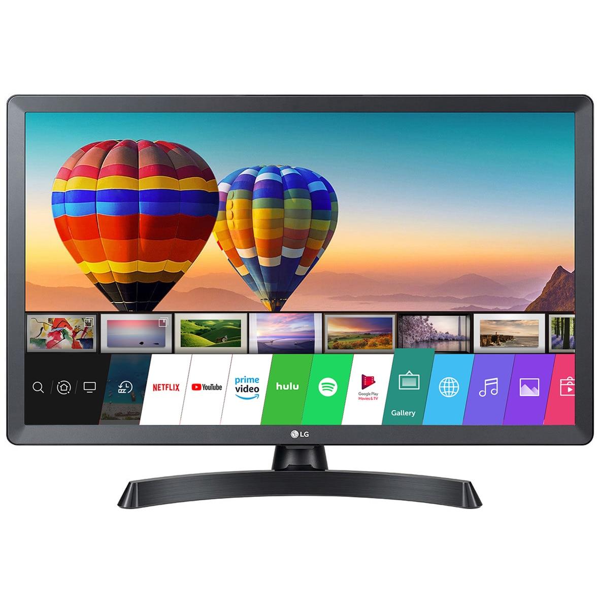 Fotografie Televizor / monitor LG, 28TN515S-PZ, 70 cm, Smart, HD, LED, Clasa F
