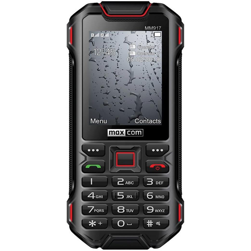 Fotografie Telefon mobil MaxCom Strong MM917, Dual SIM, 3G, Black