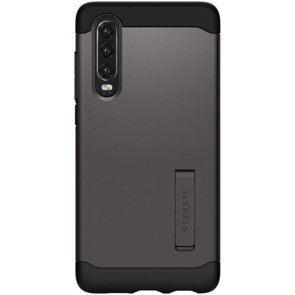 Fotografie Husa de protectie Spigen Gauntlet pentru Huawei P30, Gunmental Grey