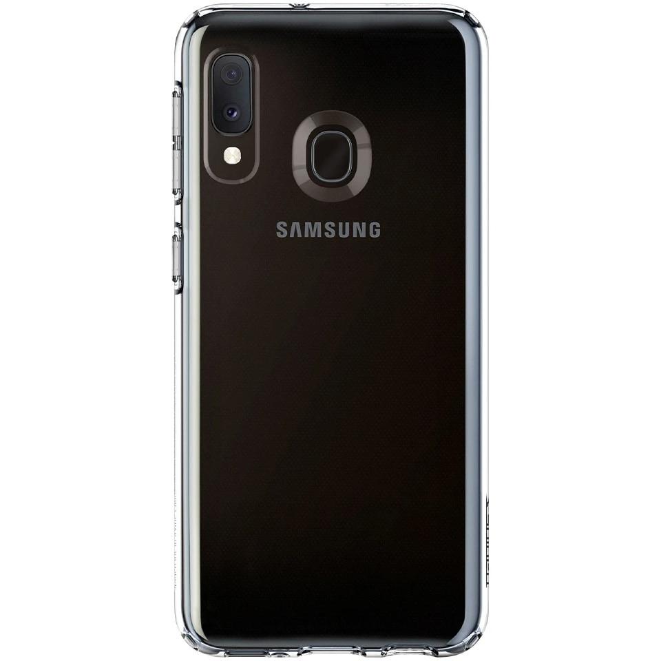 Fotografie Husa de protectie Spigen Liquid Crystal pentru Samsung Galaxy A20e, Clear