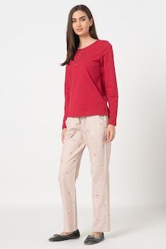 Triumph, Character pizsama kis rókás mintával, Rózsaszín/Barna
