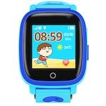 Ceas smartwatch GPS copii TechONE™ Q11+, camera foto, buton SOS, localizare LBS + Foto, rezistent la apa, touchscreen, agenta telefonica, functie telefon, monitorizare spion, afisare meteo, blocare in timpul orei, chat text/voce, albastru