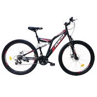 bicicleta full suspension decathlon