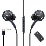 Samsung EO-IG955 Note 10 gyári fekete sztereo headset Type - C csatlakozóval (AKG)