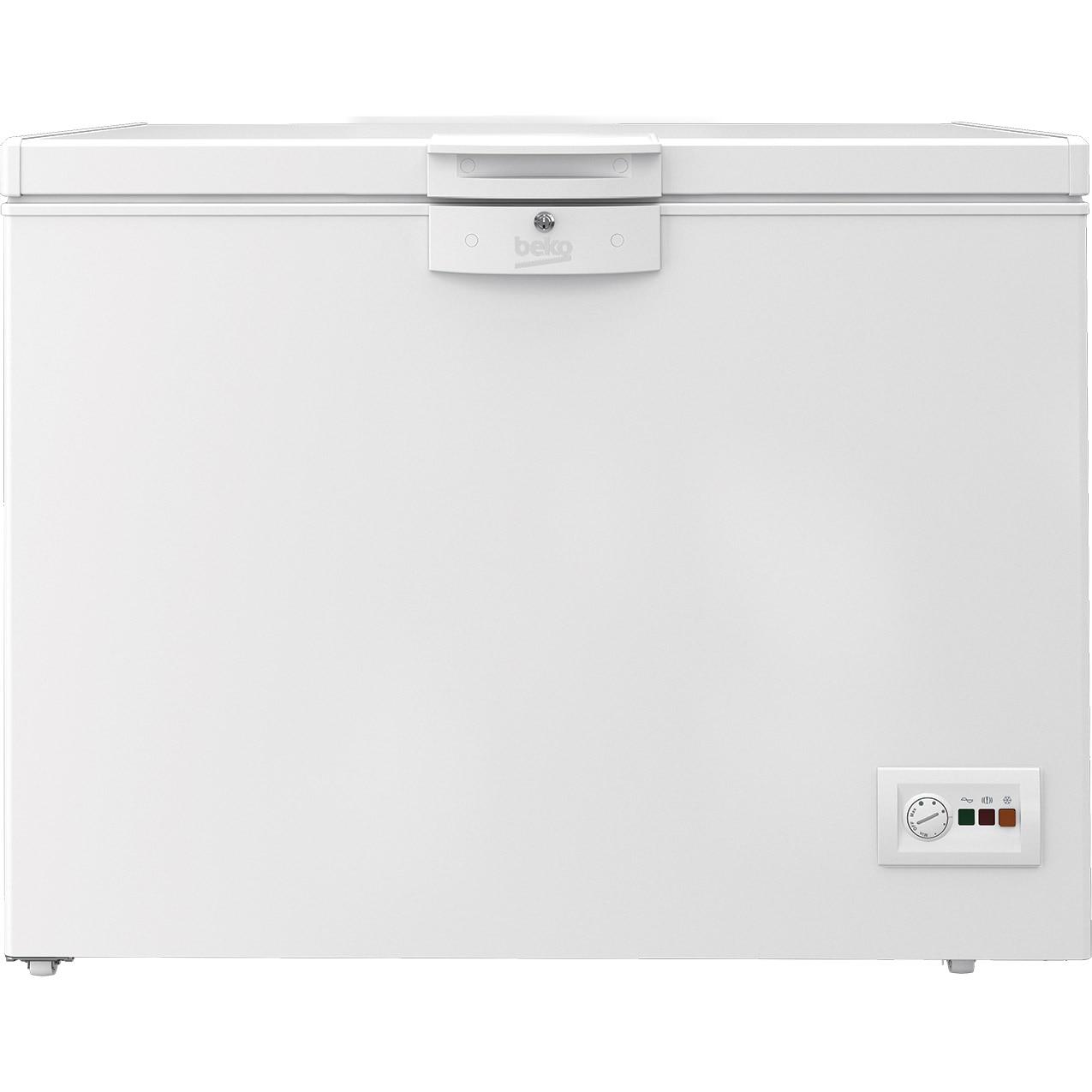 Fotografie Lada frigorifica Beko HSA24540N, 230 l, Clasa A++, Securizare yala, Congelare rapida, Iluminare LED, Alb