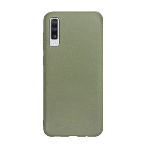 Fotografie Husa de protectie Forever, Biodegradabile Bioio Tree pentru Samsung Galaxy A70, Verde