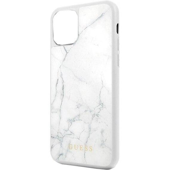 Fotografie Husa de protectie Guess Marble pentru iPhone 11 Pro, White