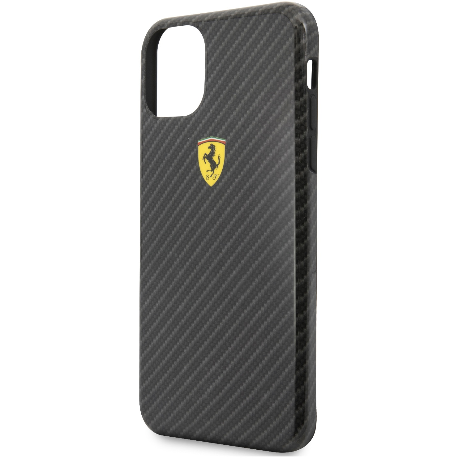 Fotografie Husa de protectie Ferrari On Track Carbon Effect pentru iPhone 11 Pro Max, Black