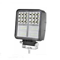 Autó LED-Vetítő Flexzon, Fehér, 10,7cm, 54 LED-es Fémházas, 162W Teljesítmény, 8100 lumen, Szuper Erős