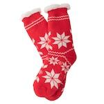 Комплект коледни чорапи Santa, Червен, Размер 36-43