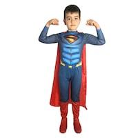 Детски карнавален костюм HuxyMascots Супермен, размер 122