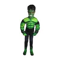 Детски карнавален костюм HuxyMascots Хълк, размер 110