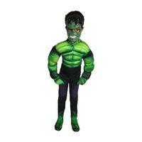 Детски карнавален костюм HuxyMascots Хълк, размер 116