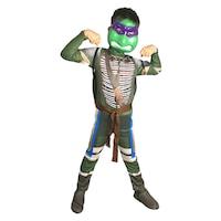 Детски карнавален костюм HuxyMascots Костенурка Нинджа, размер 110