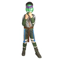 Детски карнавален костюм HuxyMascots Костенурка Нинджа, размер 116