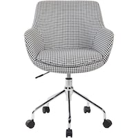 scaun birou alb dedeman