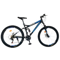 full suspension bike decathlon