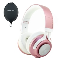 PowerLocus P3 Bluetooth fejhallgató,40 óralejátszási idő, ,vezeték nélküli fül köré illeszkedő összehajtható - Matt Rose Gold