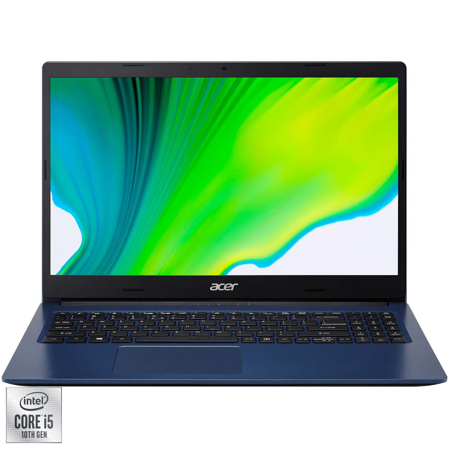 "Fotografie Laptop Acer Aspire 3 A315-57G cu procesor Intel Core i5-1035G1 pana la 3.60 GHz, 15.6"", Full HD, 12GB, 256GB SSD, NVIDIA® GeForce® MX330 2GB, No OS, Albastru"