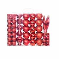 set ornamente brad