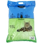 Хигиенична постелка за котки Mellow, Silicat, Mar, 15 л