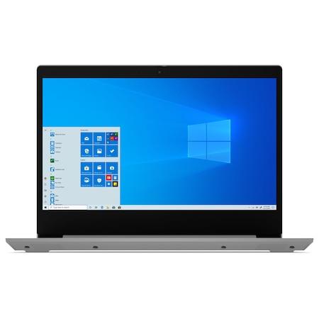 Лаптоп Lenovo IdeaPad 3 14IGL05 с Intel Celeron N4020 (1.1/2.8GHz, 4M), 4 GB, 256GB M.2 NVMe SSD, Intel UHD Graphics 600, Windows 10 Home 64-bit, Сребрист