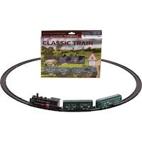 Classic Train elemes mozdony szett – 29x23 cm