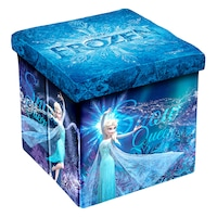 Табуретка Disney Frozen II, 3в1, MDF и текстил, До 150 kg
