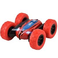 Átfordulós távirányítós kisautó / RC kaszkadőrautó, 4WD / piros