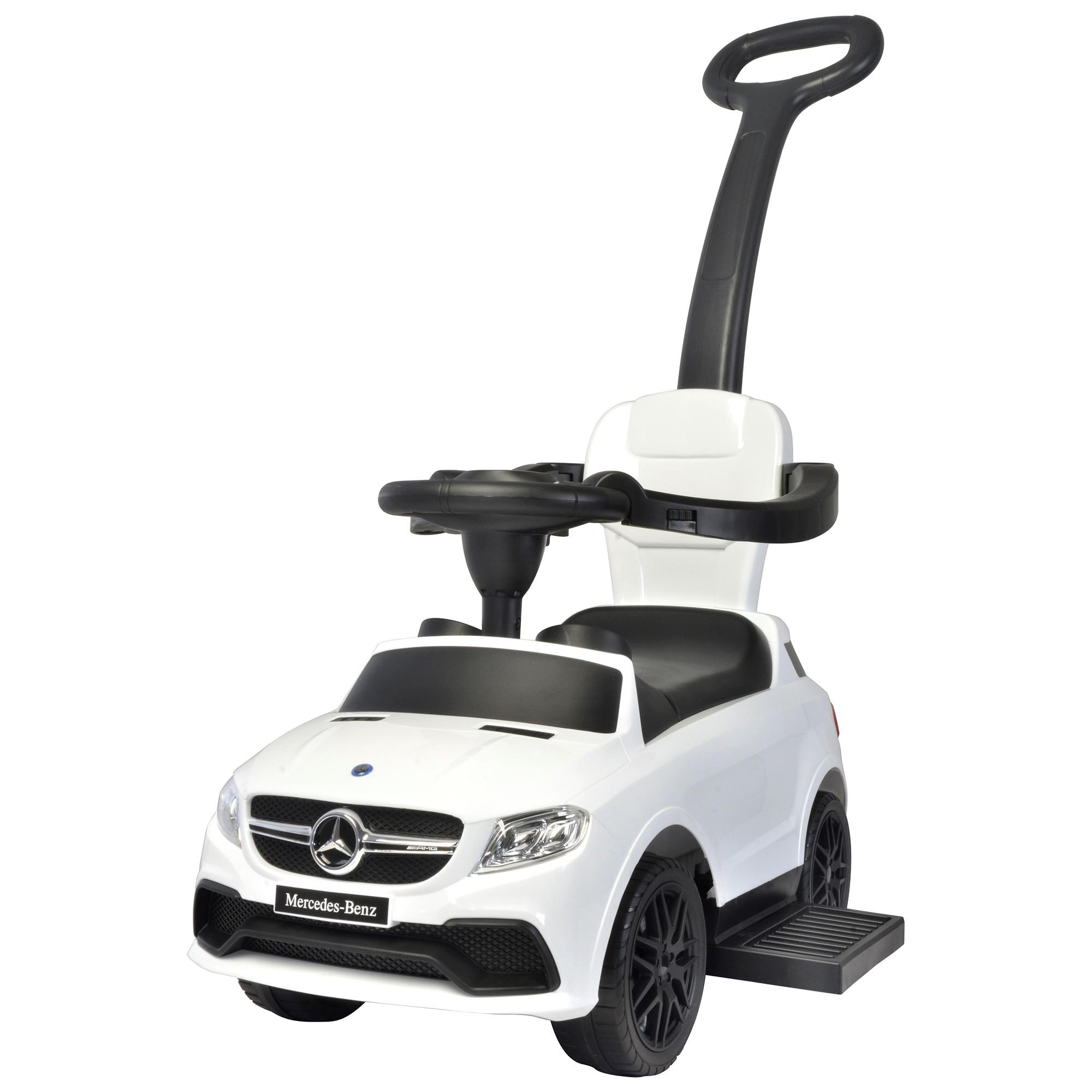 Fotografie Masinuta Ride-on Mappy - Mercedes, Alb
