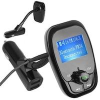 Multifunkciós FM transzmitter, visszhang- és zajcsökkentő technológiával, Bluetooth 4.2 támogatással