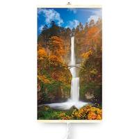 Dekoratív elektromos infravörös fűtőpanel TRIO 430W, Vízesés, 420 W, 100 x 60 cm