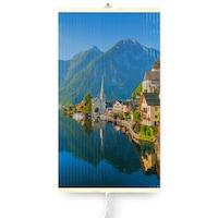 Dekoratív elektromos infravörös fűtőpanel TRIO 430W, Village Hallstatt, 420 W, 100 x 60 cm