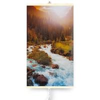 Dekoratív elektromos infravörös fűtőpanel TRIO 430W, Hegyi folyó, 420 W, 100 x 60 cm
