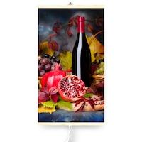 Dekoratív elektromos infravörös fűtőpanel TRIO 430W, Bor, 420 W, 100 x 60 cm