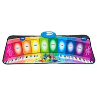 Felis Zeneszőnyeg, 8 billentyű, 2 program, 8 programozott dallam, Többszínű, 80 x 35 cm, 3 + éves korig
