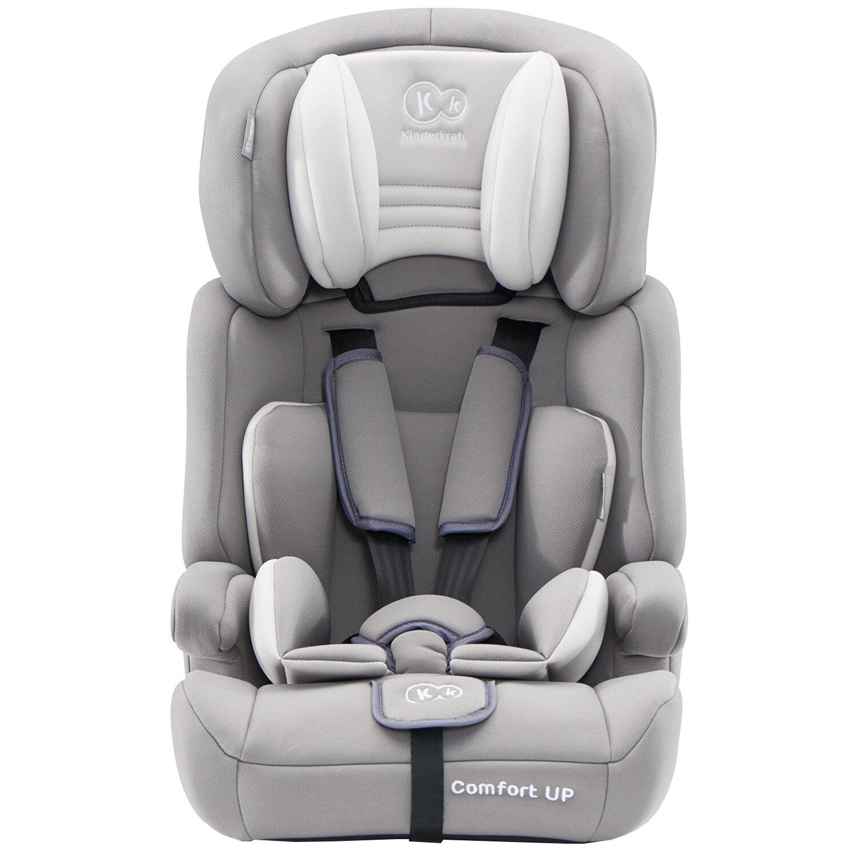 Fotografie Scaun auto Kinderkraft Comfort UP, 9-36 kg, Gri deschis