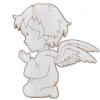 Молещо се ангелче, Натурален, 11 х 11 см