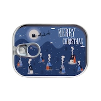 Картичка-консерва Gespaensterwald, Merry Christmas, Къщички