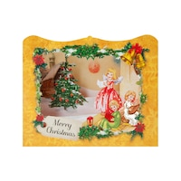 Картичка Gespaensterwald, 3D, Merry Christmas, Ангели