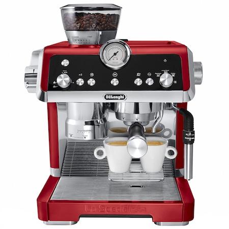 Espressor manual De'Longhi La Specialista EC9335.R, 1450 W, 19 bar, 2 L, Rosu