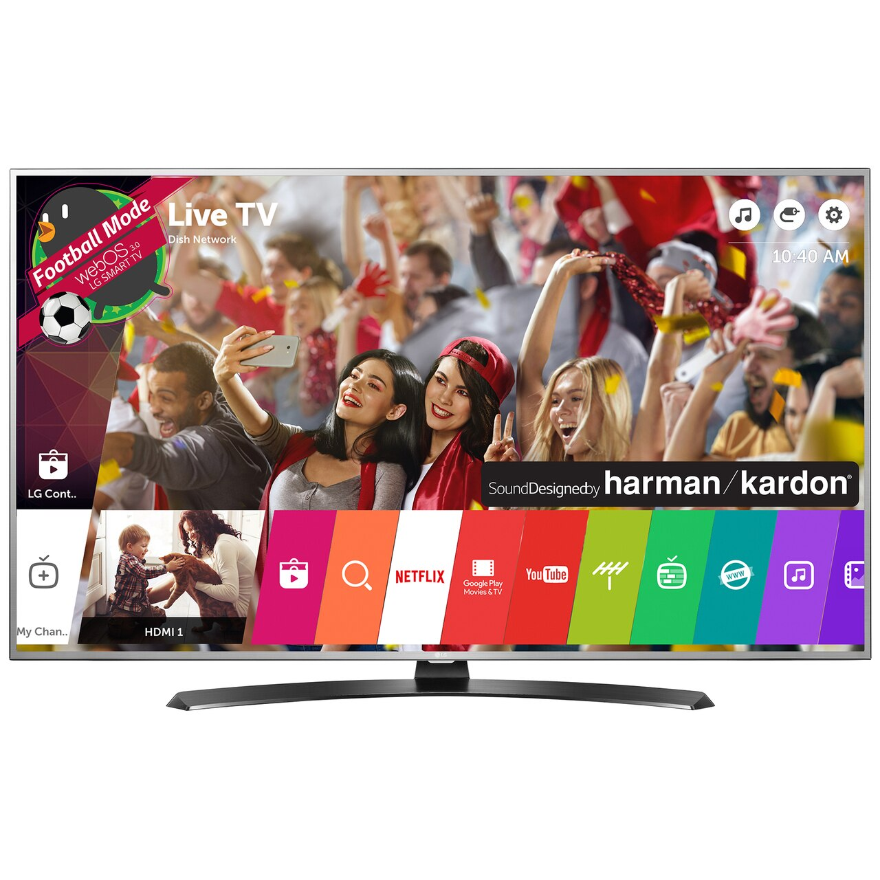 Fotografie Televizor LED Smart LG, 164 cm, 65UH668V, 4K Ultra HD