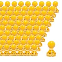 Set 27 magneti galbeni, magneti pentru frigider, magneti pentru whiteboard