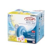 Таблетки за влагоабсорбатор Ceresit Aero, диви цветя, 2*450