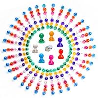 Set 21 magneti multicolori, magneti pentru frigider, magneti pentru whiteboard