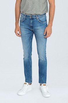 Pepe Jeans London, Дънки със стеснен крачол, Светлосин, W38-L32