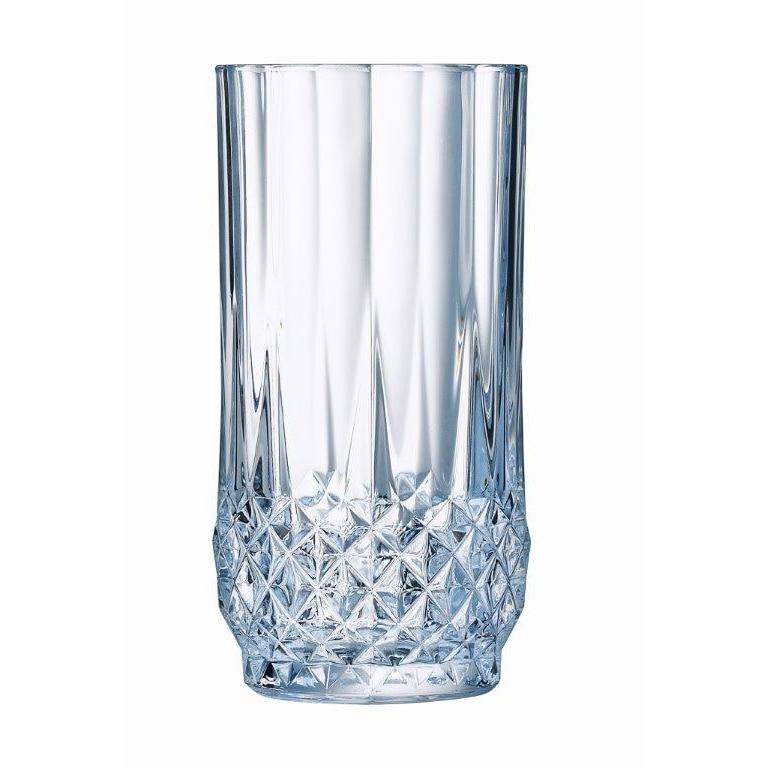 Fotografie Set 6 Pahare suc Cristal D'Arques Longchamp, 280 ml