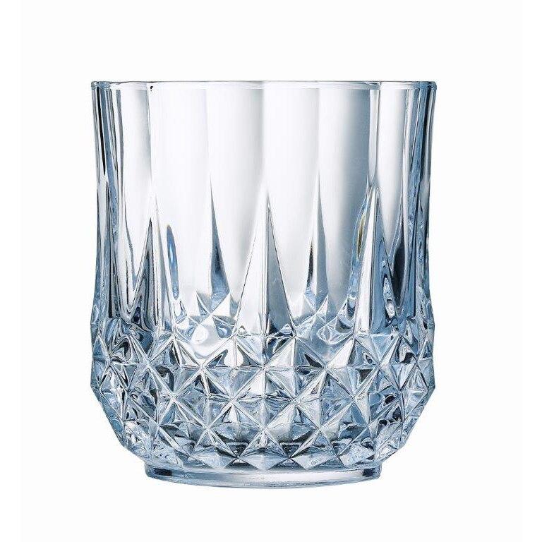Fotografie Set 6 Pahare whisky Cristal D'Arques Longchamp, 320 ml