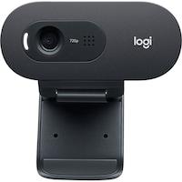 Logitech C505 webkamera, HD, Fekete